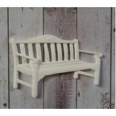 Декор из пластика, скамейка, Размер 75х52 мм