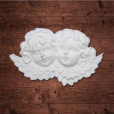 """""""Два ангела"""", Размер 7х4 см."""