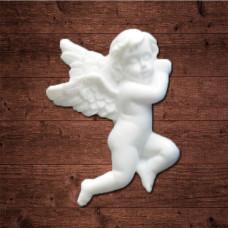 "Декор из пластика, ""Ангел 1"", Размер 3,0х4,0 см"