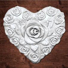 """""""Сердце в розах"""" большой"""