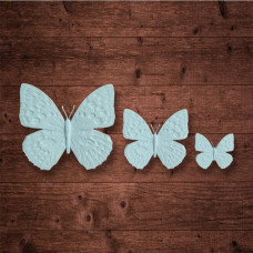"Набор из трех бабочек, ""Бабочка 1"" (M;S;XS)"