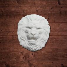 """Голова льва"", (L), Размер 100x90 мм."
