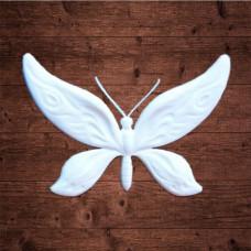 """декор из пластика, """"Бабочка 1"""" большая, Размер 5х3,5 см"""