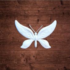 "декор из пластика, ""Бабочка 1"" малая, Размер 3х2 см"