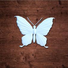 "декор из пластика, ""Бабочка 2"" малая, Размер 3х2,3 см"