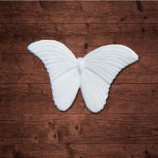"декор из пластика, ""Бабочка 3"", Размер 3,9х2,5 см"