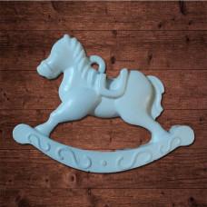 Лошадка-подвес, Размер 8,4 x 6,5 x 1 см
